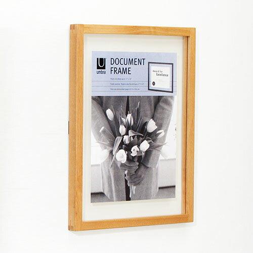 """【あす楽14時まで】 umbra Document アンブラ ドキュメントフレーム [S/11x14""""]◇デザイン plywood オシャレ雑貨"""
