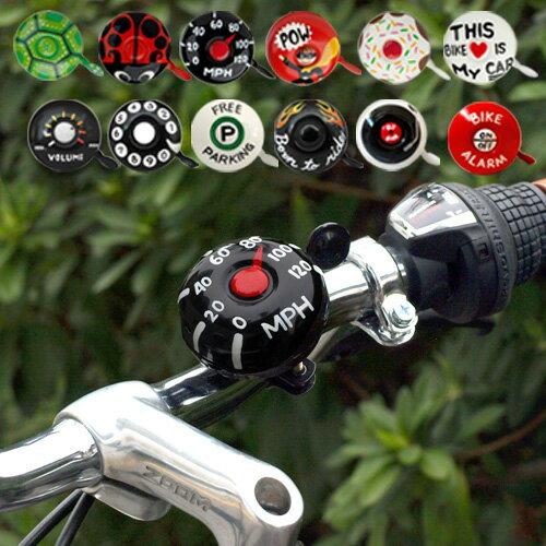 【あす楽14時まで】 Kikkerland Dring Dring Bike Bells. ドリンドリン バイクべルズ [ 自転車 ベル ]キャラクター おしゃれ ユニーク おもしろ かわいい◇デザイン plywood オシャレ雑貨