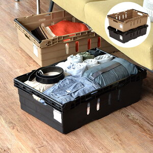 \MAX37.5倍/収納ボックス 収納カゴ 収納ケース プラスチック【あす楽14時まで】molding TRANSPORT BOX 34.5Lモールディング トランスポート ボックスBRID ストレージボックス コンテナ 大型 おしゃれ