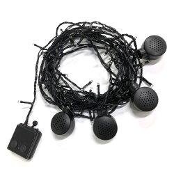 ストリングライト屋外防水イルミネーションライトLEDおしゃれ80球オーナメントライト電飾イルミネーション照明パーティーアウトドアクリスマスディスプレイUSB