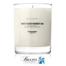 【送料無料】【あす楽14時まで】 Baxter バクスター ホワイトウッドキャンドル [ フレグランスキャンドル 2 two ] 【楽ギフ_包装】【smtb-F】(T)