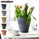 プランター 植木鉢 おしゃれ 鉢植え 【あす楽14時まで】アマブロ アートストーン Mサイズ AMABRO ART STONE花 栽培 プ…
