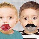 【あす楽14時まで】 bitten Moustache Pacifier ムスタッシュ パシファイアー [ ひげ おしゃぶり ] おしゃぶり 赤ちゃん ベビーグ...