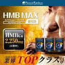 【ポイント20倍】国内生産『HMB MAX 強化版 120粒 3個セット』高配合!約100,000mg/HMB/プロテイン/筋肉/筋トレ/トレ…
