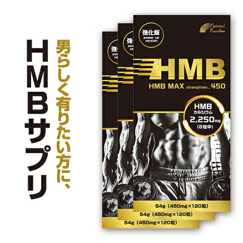 【3個セット】『HMB MAX 強化版 120粒 3個セット』高配合!約100000mg/HMB/ロイシン/プロテイン/トレーニング/サプリ/錠剤/HMBサプリメント【メール便・定形外発送】【国内生産】