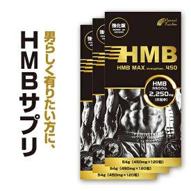 【感謝企画!HMBドリンク無料プレゼント中】『HMB MAX 強化版 120粒 3個セット(HMBドリンク付き)』【国内生産】