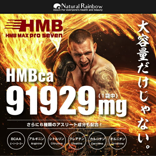【驚異のコスパ!HMB 90,000mg配合+6成分】【国内生産】『HMB MAX PRO seven 360粒』