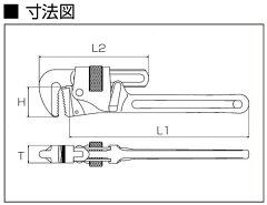 LOBSTER(エビ印)パイプレンチ(強力型)PW200