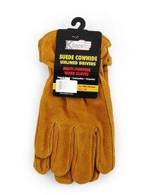【ポイント2倍★〜7/11 01:59限定】 ワークグローブ 牛革 Kinco Gloves(キンコグローブ) Unlined Split Cowhide Leather Driver 50S/M/L 【メール便対応・2個まで】