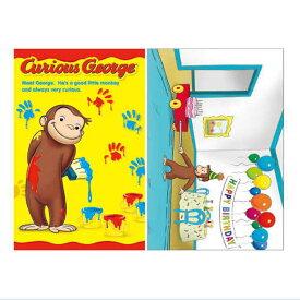 おさるのジョージ ポストカード 全2種類 CG-PT001 Curious George