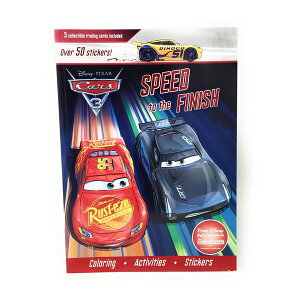 ディズニー カーズ アクティビティーブックとステッカー 9781474872027 Disney cars