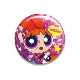 パワーパフガールズ 缶バッジ(ブロッサム)PG-CB001 The Powerpuff Girls