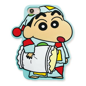 クレヨンしんちゃん iPhone8シリコンケース(パジャマしんちゃん)※iPhoneSE/7/6/6s対応 KS-IC018 Crayon shinchan