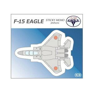 KBオリジナル アイテム 付箋 ダイカット 航空自衛隊 F-15 イーグル KBF008