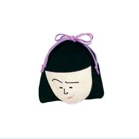 ちびまる子ちゃん ダイカット巾着(野口さん)CM-KI012 Chibi Maruko-chan 櫻桃小丸子