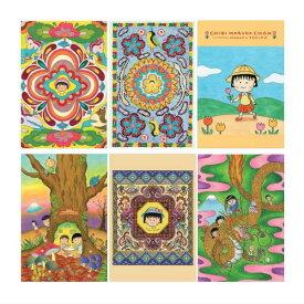 ちびまる子ちゃん NEWポストカード 全6種類 CM-PT50 Chibi Maruko-chan 櫻桃小丸子