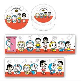 ドラえもん マスキングテープ(30mm幅/全員集合)ID-MT200 Doraemon