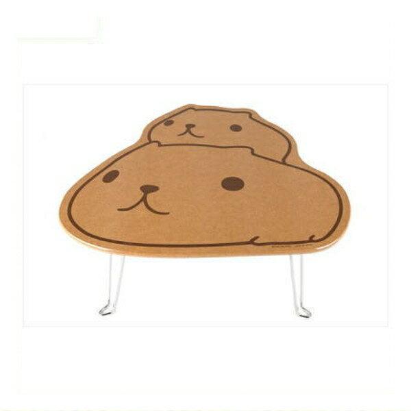 カピバラさん ダイカットテーブル(カピバラさん&仔カピ) KB3500 kapibarasan