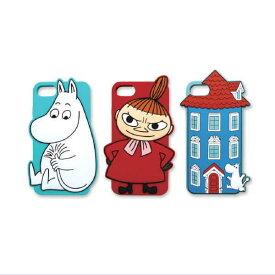 ムーミン iPhone7 シリコンケース(全3種類)※iPhone8/6/6s対応 MO-IC018-20[Moomin]