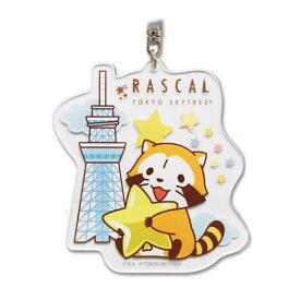 あらいぐま ラスカル アクリルキーホルダー(プチラスカル星)R2-KH003 Rascal the Raccoon