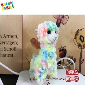 【TY】 ぬいぐるみ 【BEANIE BABIES】 LOLA ローラ ビーニーベイビーズ ラマ アルパカ ラクダ Sサイズ 約 20cm