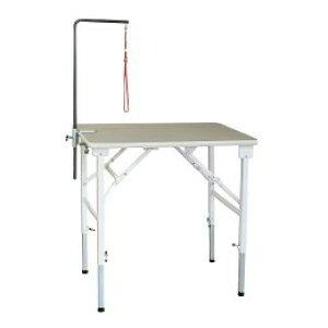 折りたたみトリミングテーブル アジャスト Mサイズ(幅75×奥行45×高さ58.5〜90cm) TOMTOM トリマー グルーミング 犬 手入れ