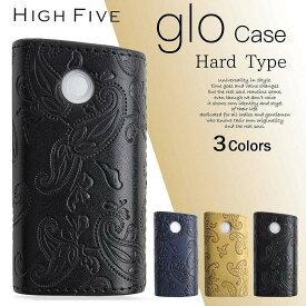 HIGH FIVE glo ハード スリーブケース ペイズリーフラワーデザイン 3カラー【メール便対応】