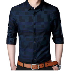 メンズ ファッションカジュアル/メンズ ビジネスカジュアル スリムフィット スタイリッシュ きれい目 彼氏 男性 men's