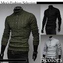 Men's ナチュラル系 タートルネック セーター セーター きれいめ アウター ストリート アウターウェア メンズ 彼氏 男性