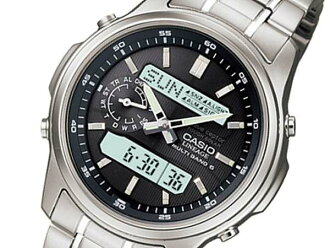 Watch men Casio CASIO リニエージ electric wave solar LCW-M300D-1AJF is regular domestically