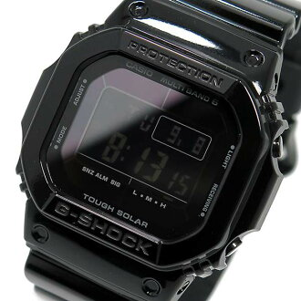 Watches mens Casio G shock glossy-black series GW-M 5610 BB-1 P16Sep15