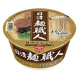 クーポン配布中★日清日清麺職人 とんこつ81g ×12食入