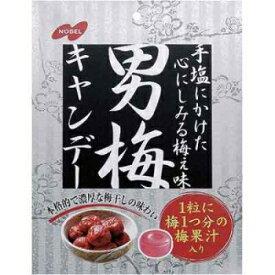 クーポン配布中★ノーベル男梅キャンデー 袋タイプ80g×6袋入