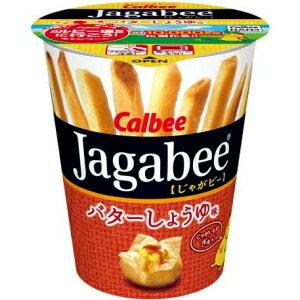 カルビー40gJagabee(じゃがビー) バターしょうゆ味12カップ入 (ジャガビー)