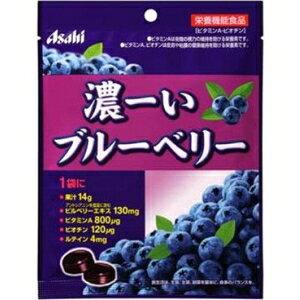 アサヒフード84g濃ーいブルーベリー6袋入 (キャンディー)