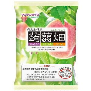 マンナンライフ蒟蒻畑 白桃味25g×12個入×12袋(もも ピーチ こんにゃくゼリー)