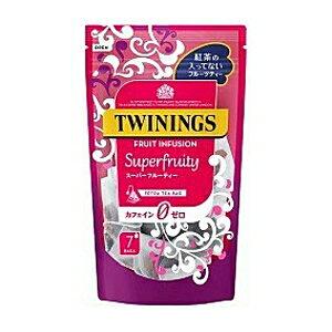 片岡物産 トワイニングスーパーフルーティー2g×7袋×6入(TWINING フルーツティー カフェインゼロ ティーバッグ)