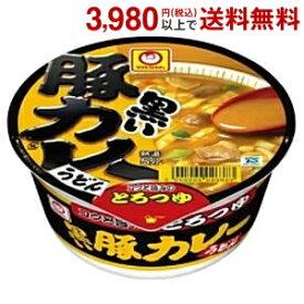 東洋水産 マルちゃん黒い豚カレーうどん87g×12食入