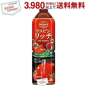デルモンテリコピンリッチ トマト飲料900gペットボトル 12本入(トマトジュース)
