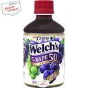 クーポン配布中★カルピス Welch'sウェルチグレープ50280mlペットボトル 24本入
