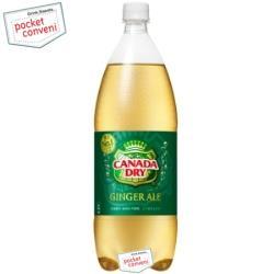 コカ・コーラカナダドライ ジンジャーエール1.5Lペットボトル 8本入 〔コカコーラ〕
