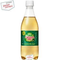 【期間限定特価】コカ・コーラカナダドライ ジンジャーエール500mlペットボトル 24本入 〔コカコーラ〕
