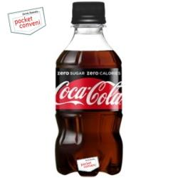 コカ・コーラコカ・コーラゼロシュガー300mlペットボトル 24本入 〔コカコーラZERO〕