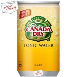 コカ・コーラカナダドライ トニックウォーター160ml缶(ミニ缶) 30本入 (コカコーラ 炭酸水)