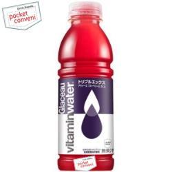 コカ・コーラグラソー ビタミンウォータートリプルエックス500mlペットボトル 12本入〔コカコーラ glaceau vitaminwater〕
