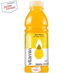 コカ・コーラグラソー ビタミンウォーターサニーサイド500mlペットボトル 12本入〔コカコーラ glaceau vitaminwater〕