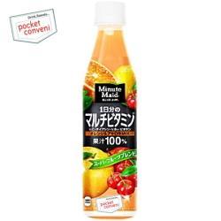 コカ・コーラ ミニッツメイド1日分のマルチビタミン350mlペットボトル 24本入 (コカコーラ 果汁100%)