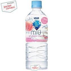 ダイドーMIUミウ ピーチ&ヨーグルト550mlペットボトル 24本入