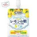 ハウスウェルネスC1000 レモンの朝180gパウチ 24個入 [ゼリー]
