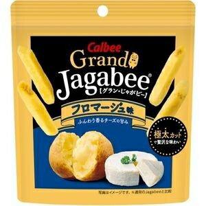 カルビーGrandJagabee(グラン・じゃがビー)フロマージュ味38g×12袋入 (ジャガビー)